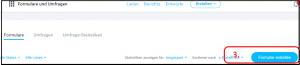E-Mail Adressenliste Anmeldeformular Schritt 3